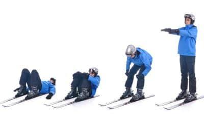 So einfach ist Skigymnastik