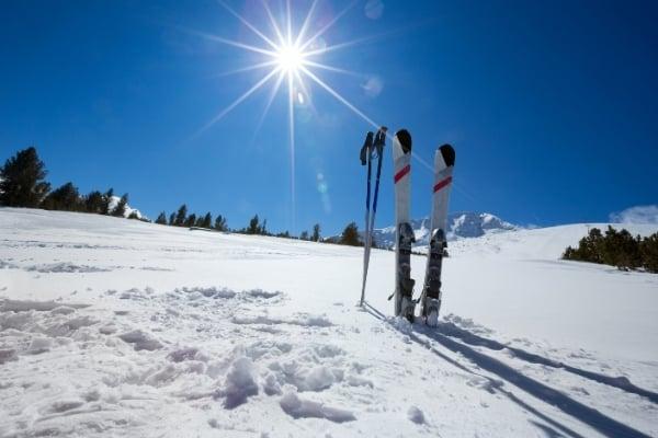 Ski ausrüstung übersommern
