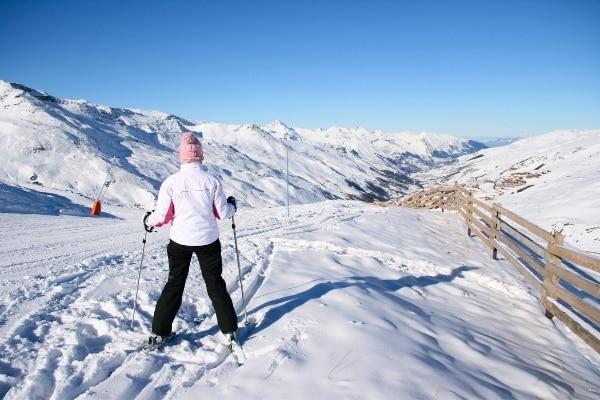 Skifahren Skiurlaub