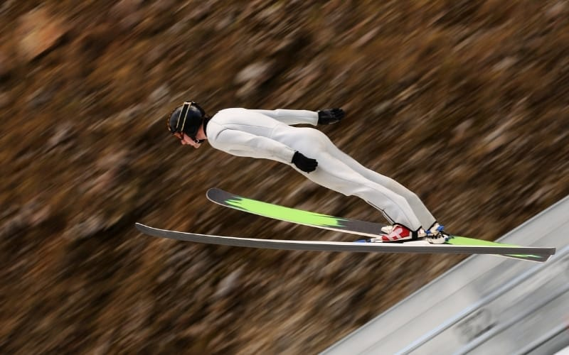 Skiflugschanze am Kulm