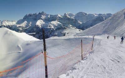 Die größten Skigebiete in der Schweiz