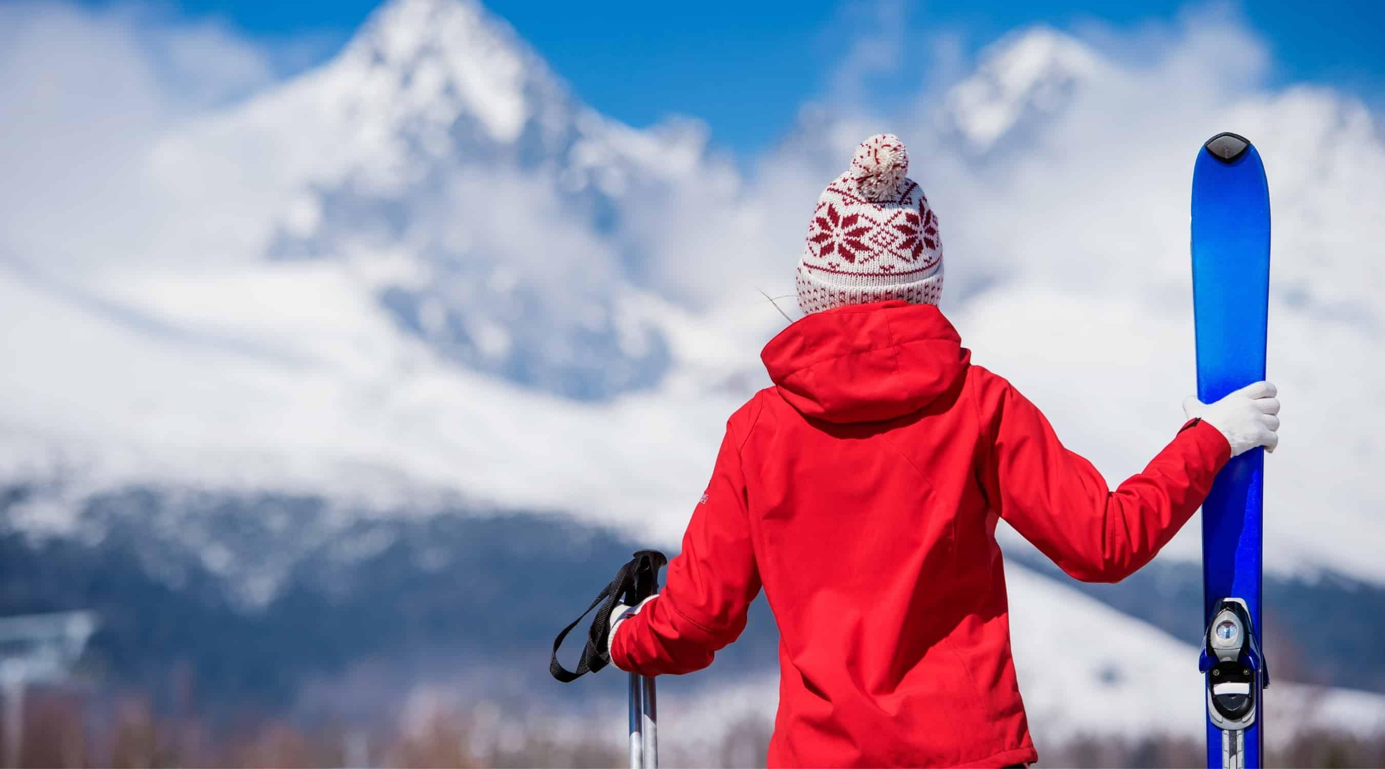 vergleich skijacke damen